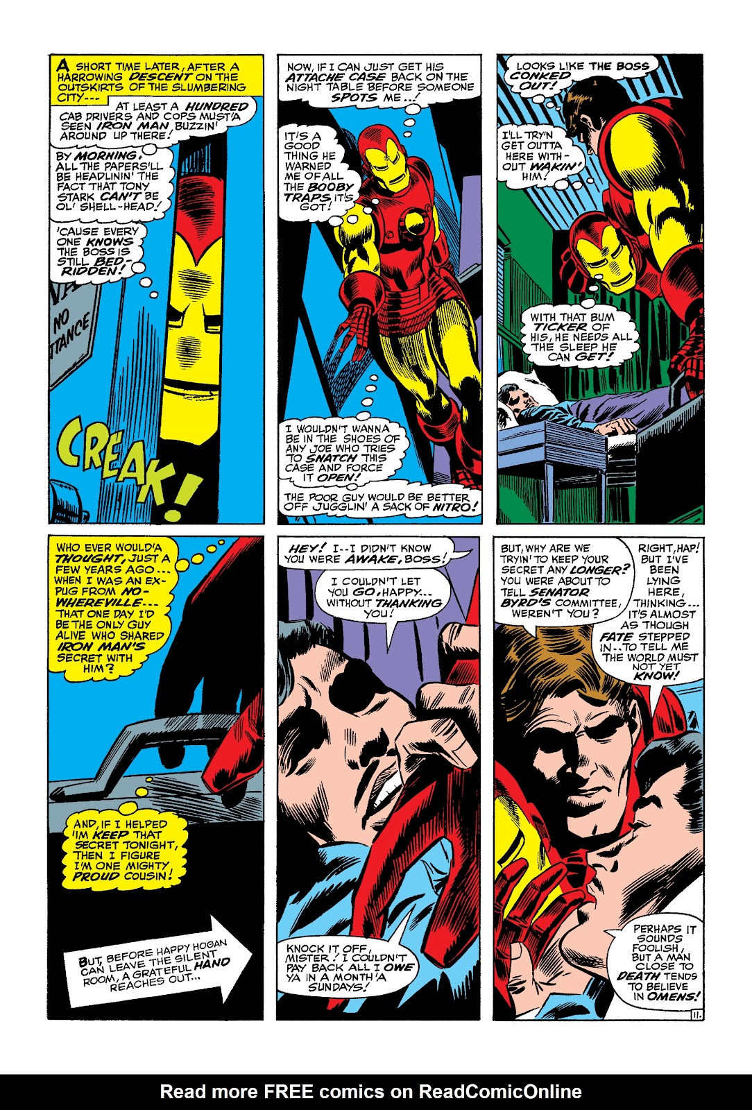 Read online Marvel Masterworks: The Invincible Iron Man comic -  Issue # TPB 4 (Part 1) - 17