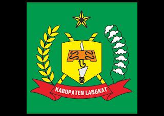 Kabupaten langkat Logo Vector