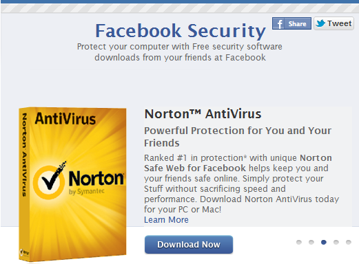 Facebook strengthens security with AntiVirus Marketplace