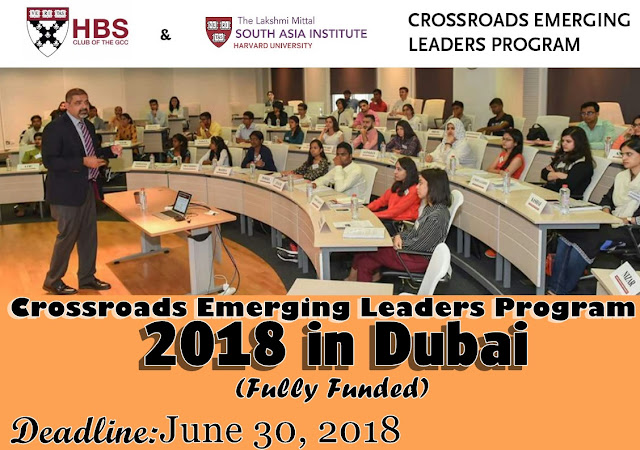 Crossroads Emerging Leaders Program 2018 in Dubai