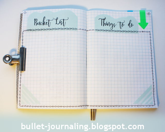 Picture: Bucket list and things to do list