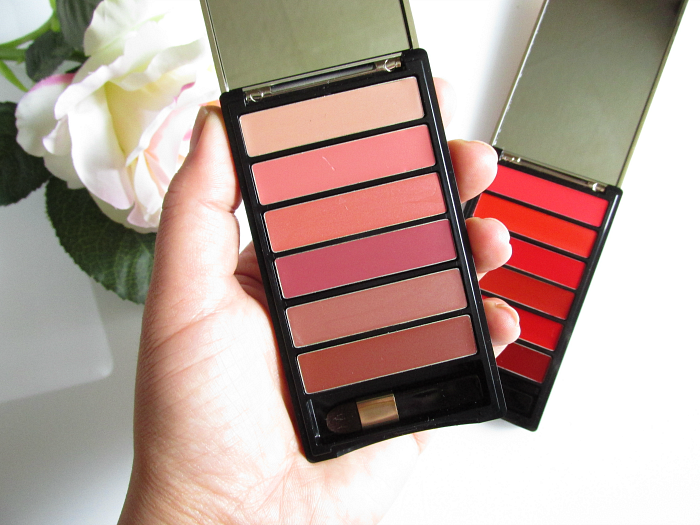 L´Oréal Color Riche La Palette Lips - Nude & Red
