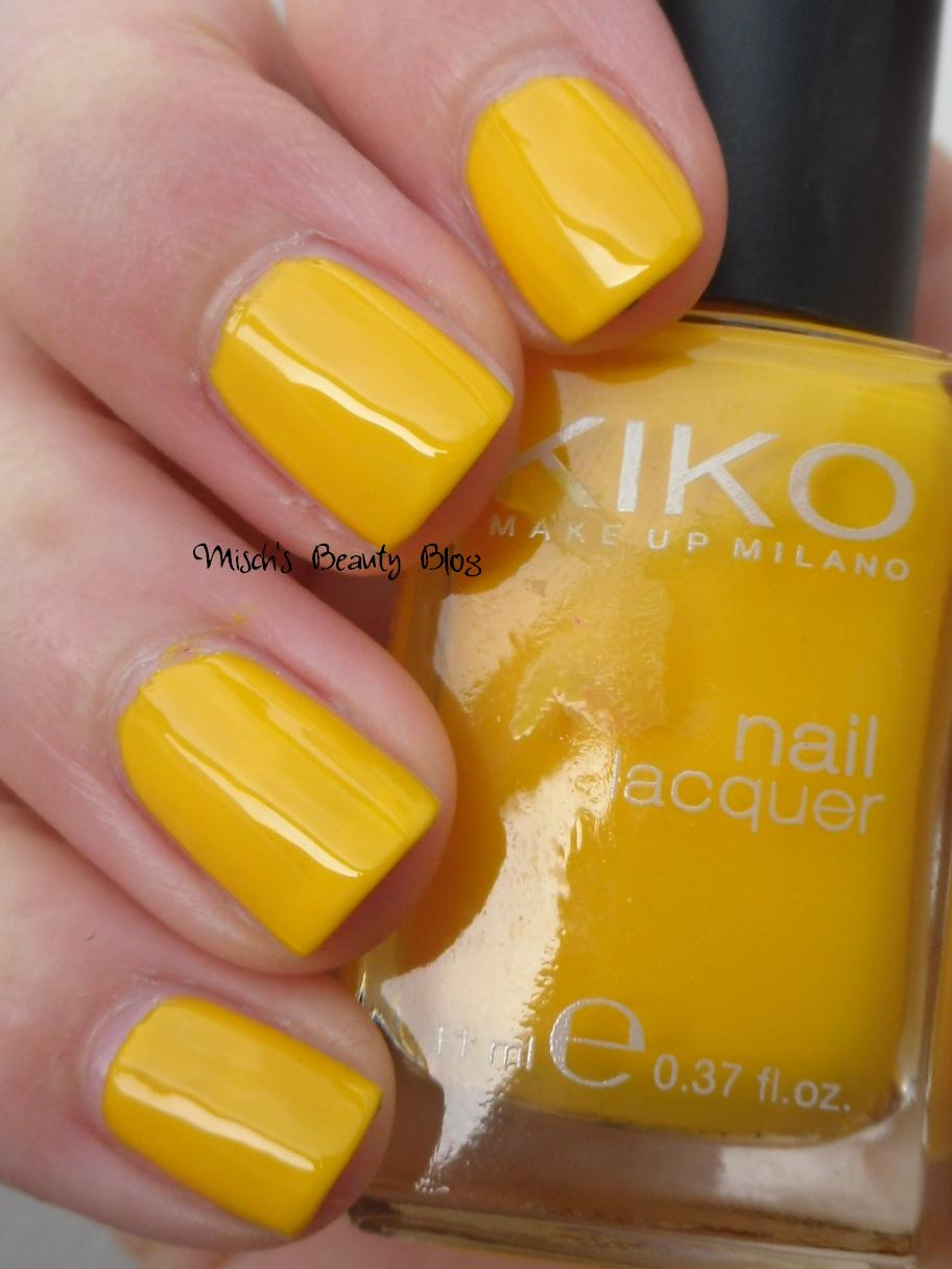 Misch S Beauty Blog Notd September 29th Fall Leaf Nail Art: Misch's Beauty Blog: NOTD March 28th: Kiko