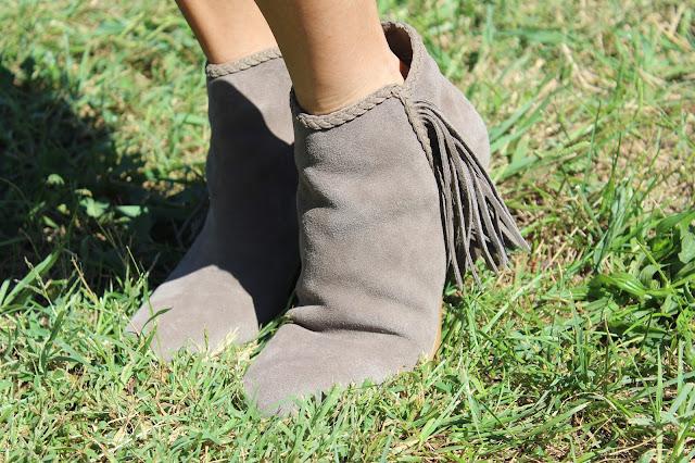 Rack Room Shoes Tassel booties, fall 2016