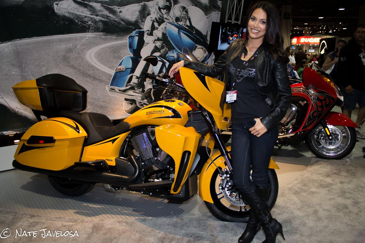 Nate Javelosa Progressive International Motorcycle Show