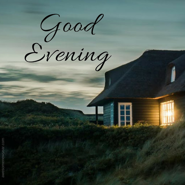 Cute Good Evening cards