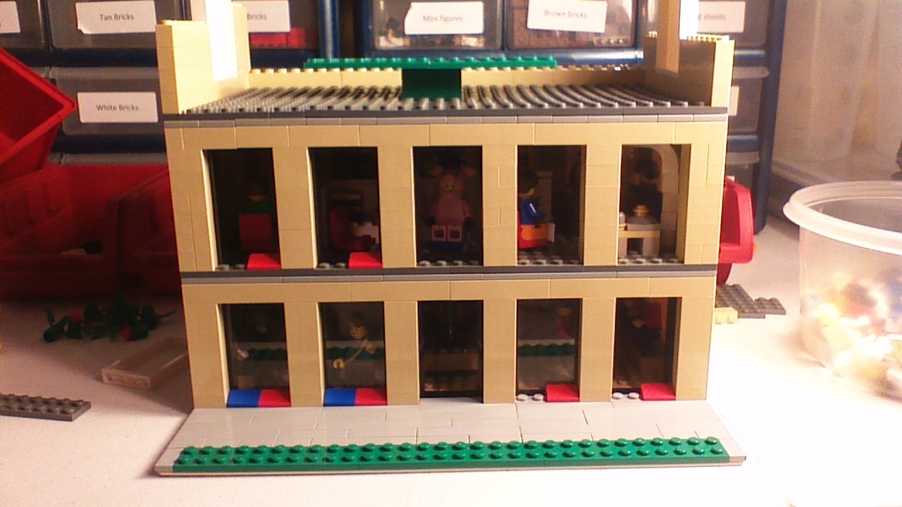The Lego Brick Kid  Lego Cubs skyscraper remake progress     that are yet to come are a conference room another office room for  executives and a much much more  But anyway that s it for this post and Go  CUBS