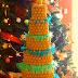 Árvore de Natal de coxinhas faz sucesso em loja na Zona Oeste do Recife