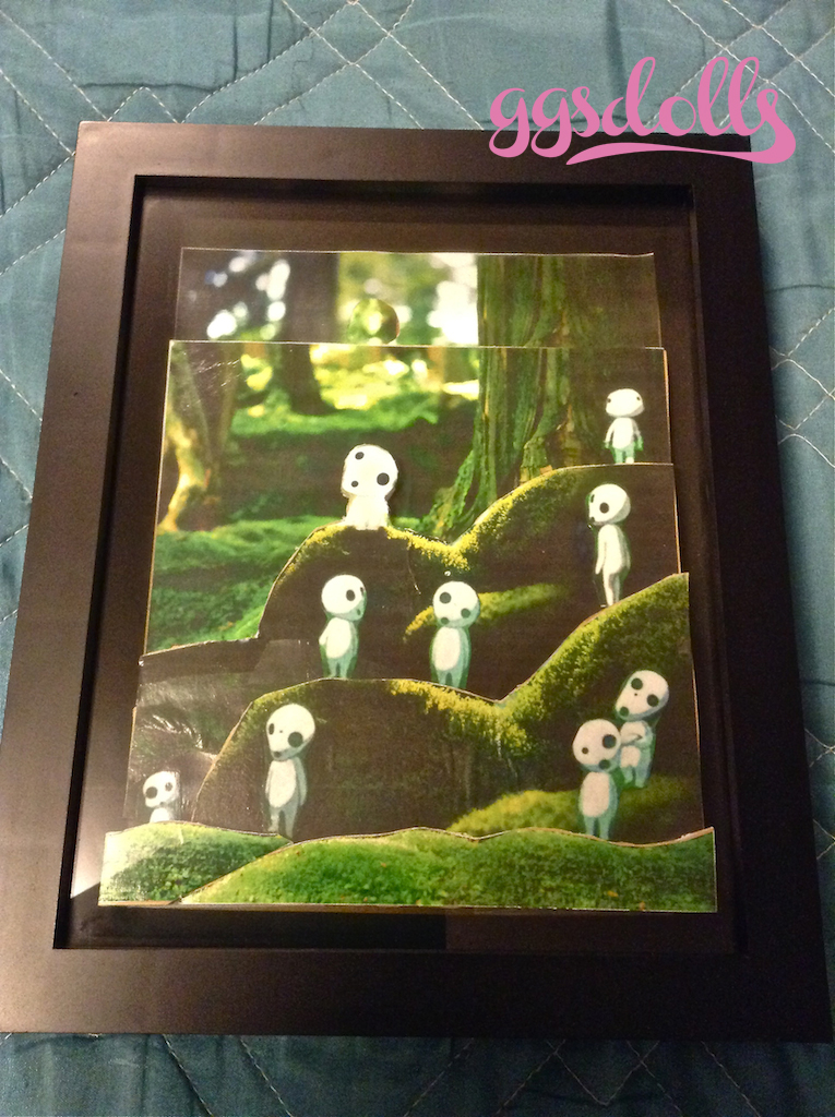 Ggsdolls More 3d Shadow Box Art Creative Ness