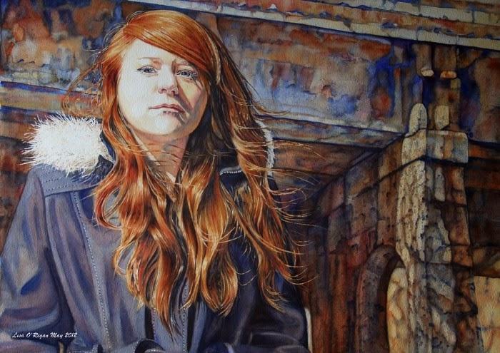 Канадская художница. Lisa O'Regan