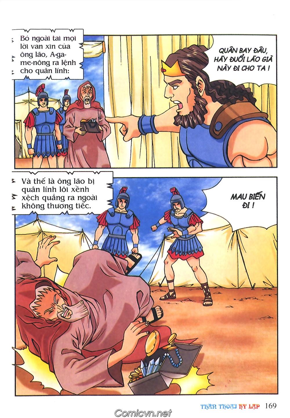 Thần Thoại Hy Lạp Màu - Chapter 56: Hai vị tướng và hai mỹ nữ - Pic 22
