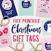 Freebie Printable Christmas Gift Tags by Celementinecreative