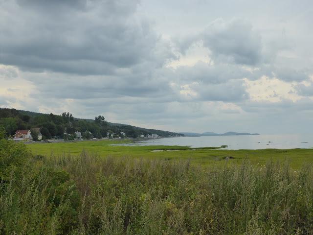 paysage le long du fleuve Saint-Laurent Québec