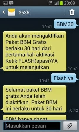 Paket BBM Galaxy Plan