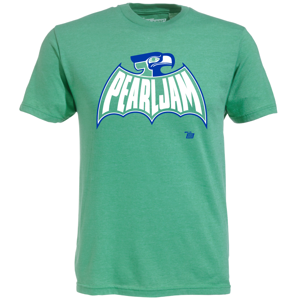 The Blot Says Batman Seattle Seahawks Inspired Pearl Jam Bathawk T Shirt By Ames Bros