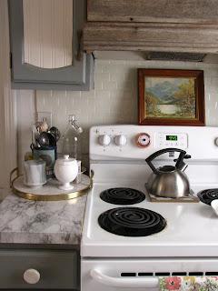 side of stove organization