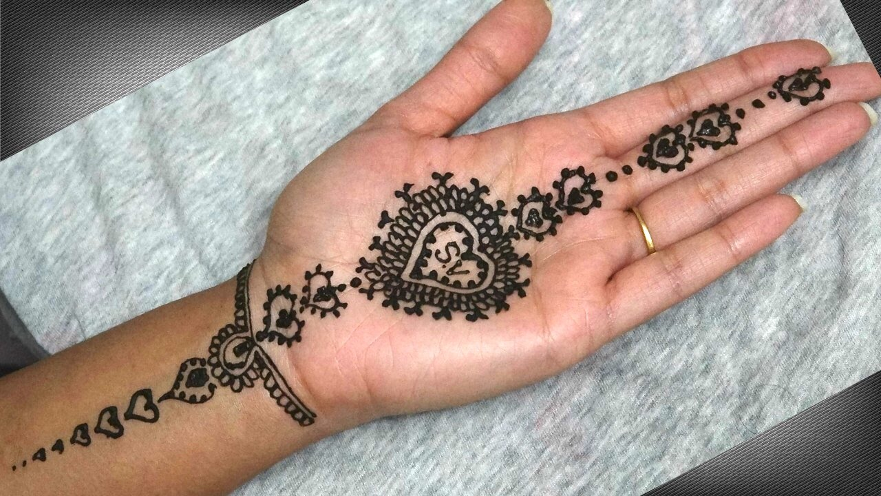 Latest Valentine Mehndi Designs You Must Try On This Valentine Art