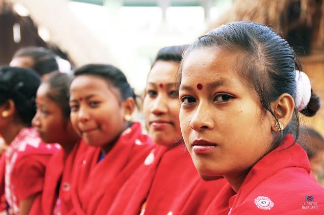 Dimasa Kachari Women In Traditional Attires Dress