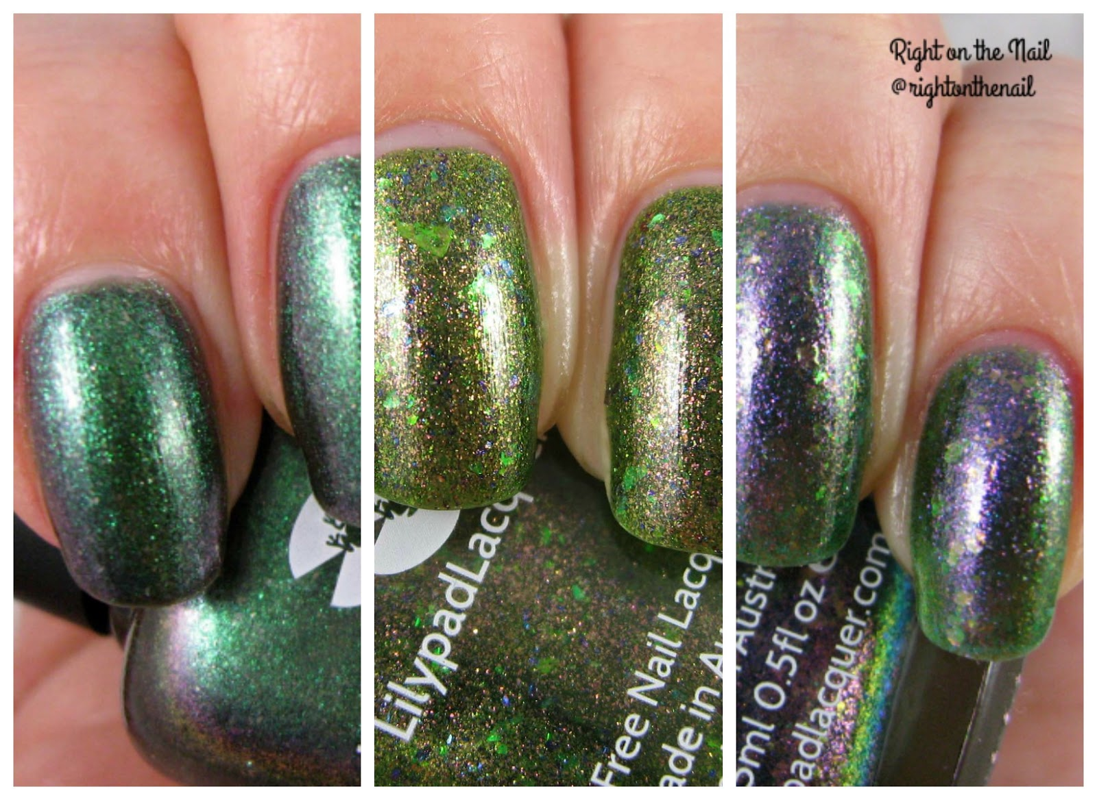 Right on the Nail: Right on the Nail ~ Lilypad Lacquer Swatches and ...