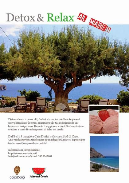 Vacanza detox al mare di Creta