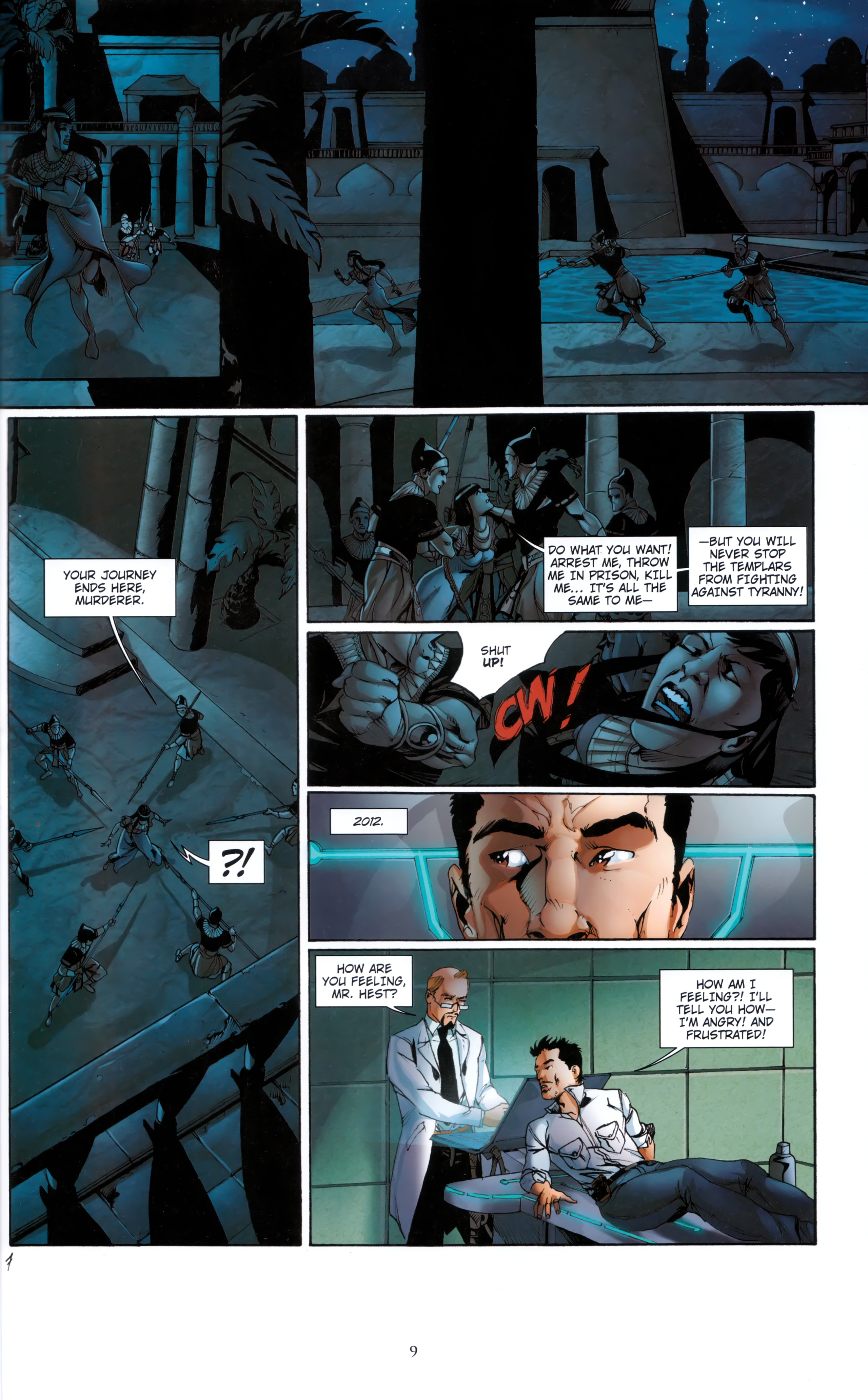 Read online Assassin's Creed (2012) comic -  Issue #5 - 9