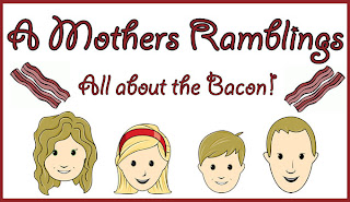 A Mothers Ramblings All About The Bacon Logo