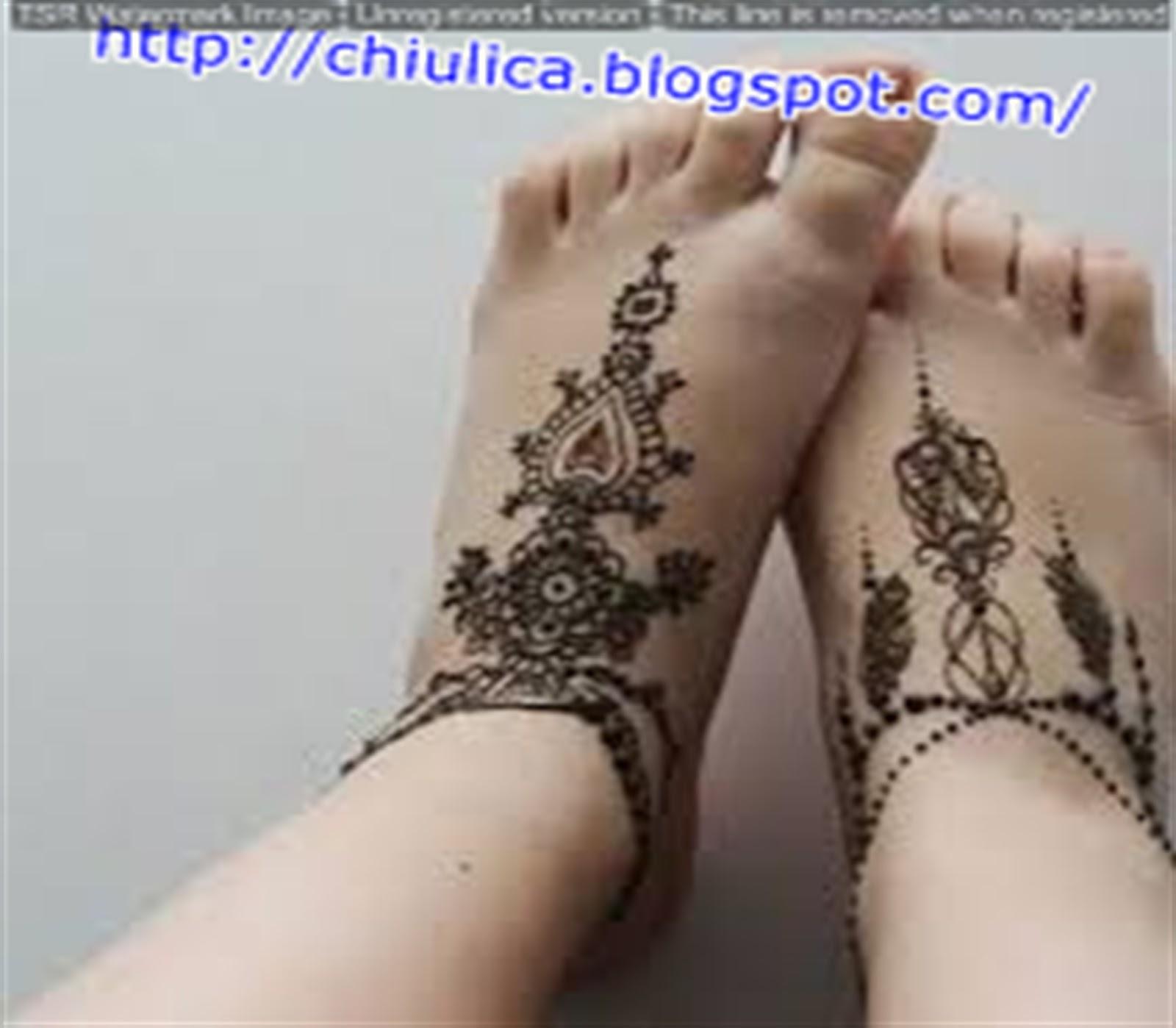 Henna India Pernikahan Simple Dan Mudah Terbaru 2017 Contoh