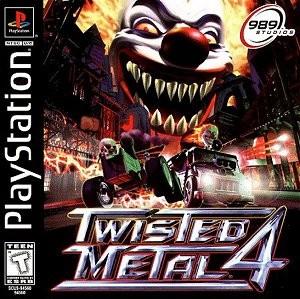 capa do jogo twisted metal 4 PS1 1999 Baixar Jogo-sem-vírus