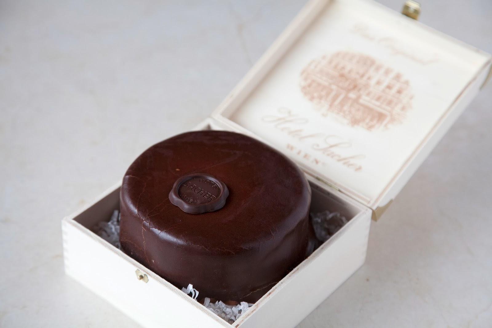 奧地利「沙河蛋糕」Sacher Torte   Eta's Diary