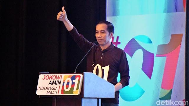 Tos! Jokowi Perkenalkan Salam Satu Jempol
