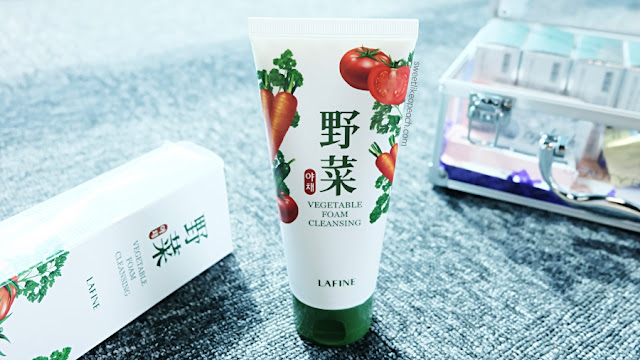 Lafine Vegetable Foam Cleanser for dry skin