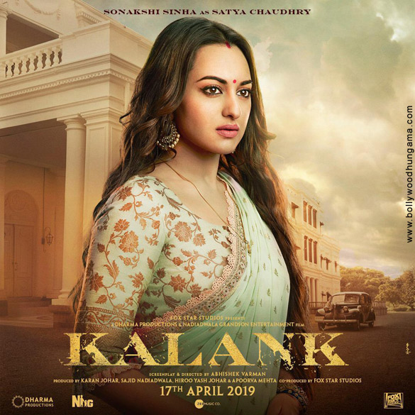 Kalank 2019 Photos - Sonakshi Sinha, Kalank 2019 HD  Photos, Sonakshi Sinha New Look in Kalank 2019
