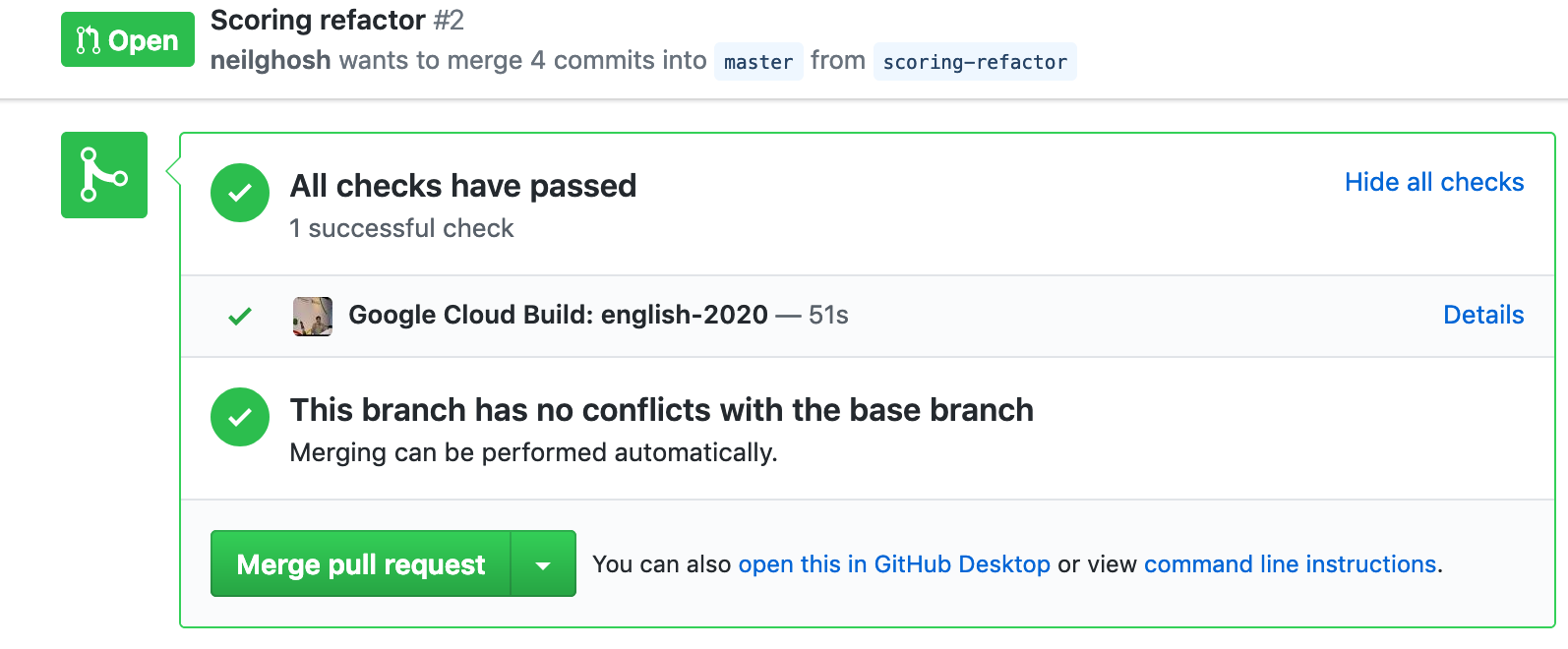Automatically Deploying to Google Appengine from Github using Cloud