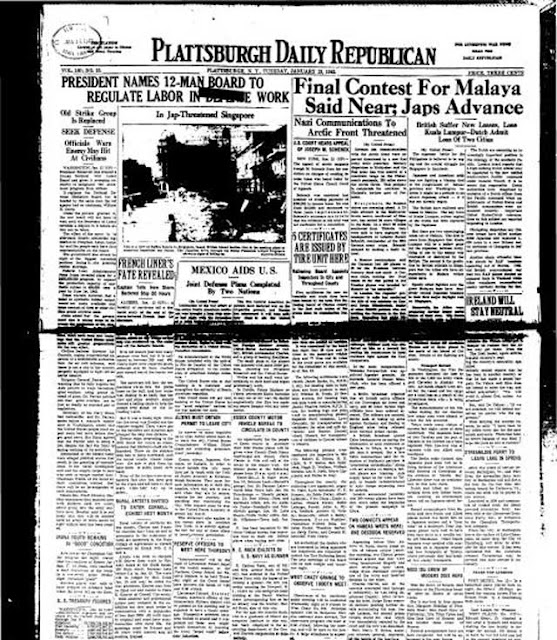 Plattsburgh Daily Republican, 13 January 1942 worldwartwo.filminspector.com