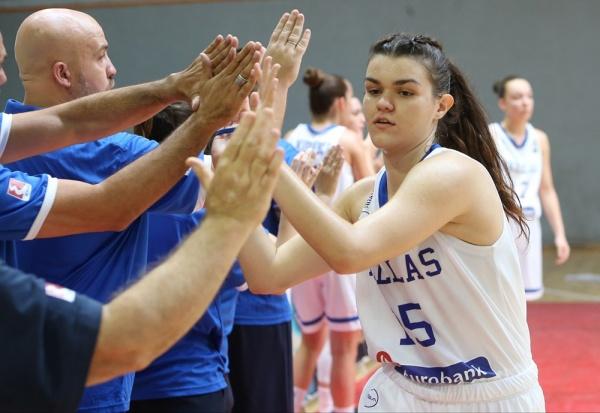 ΕΟΚ | Εθνική Νεανίδων: Ισραήλ - Ελλάδα 29-38
