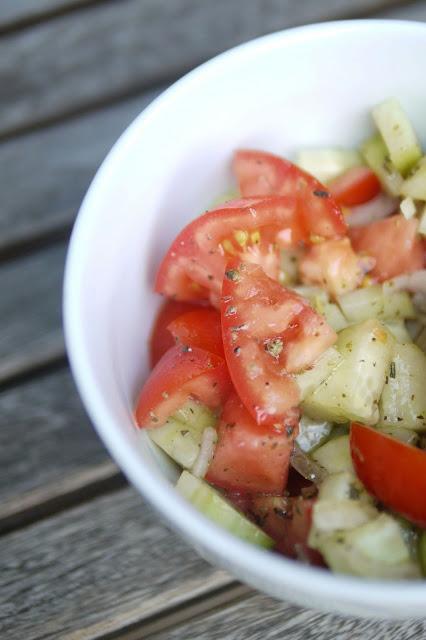 Schnelle Gurkensalate  | Rezept | Essen | Beilage