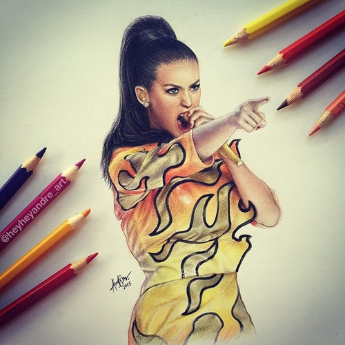 09-Katy-Perry-André-Manguba-Celebrities-Drawn-and-Colored-in-with-Pencils-www-designstack-co