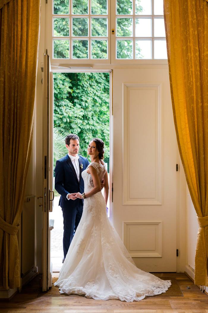 Hochzeitsfotos im Schloss Biebrich in Wiesbaden