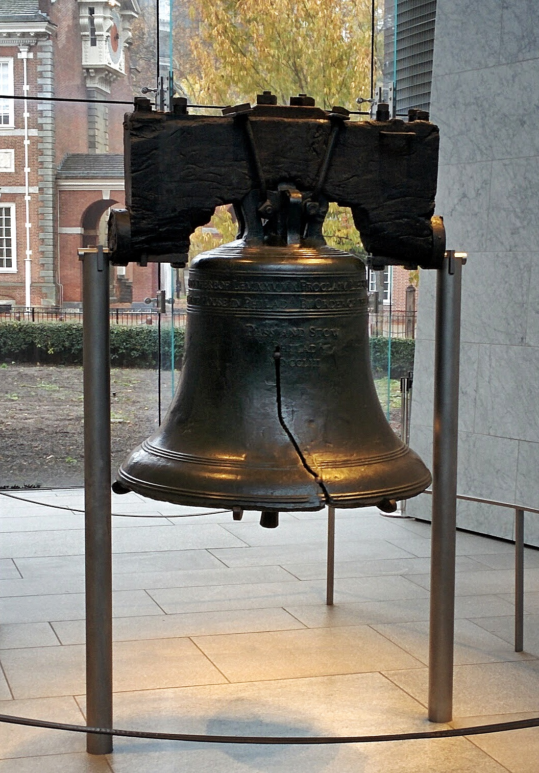 Use My Camera The Opposite Side Of The Liberty Bell