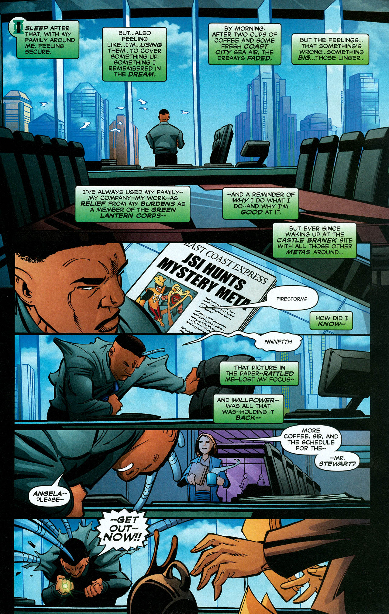 Read online Trinity (2008) comic -  Issue #21 - 24