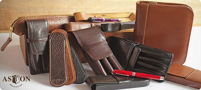 Aston Leather Pen Cases