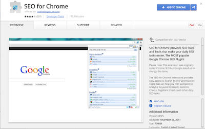SEO For Chrome SEO Extension