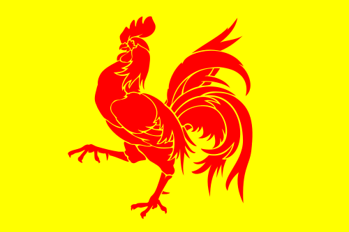 Flag of the Walloon Region (Wallonia)