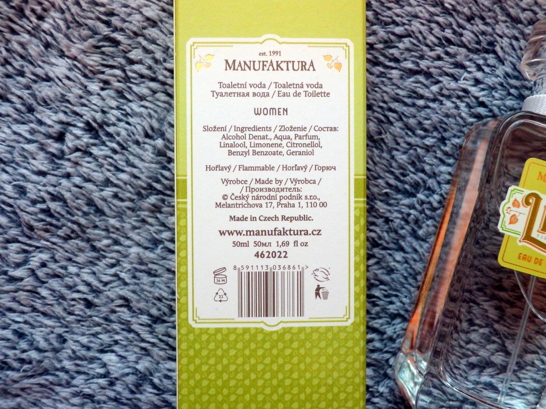 kosmetika manufaktura, lipa edice