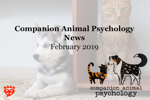 The latest science news about dogs and other animals from Companion Animal Psychology