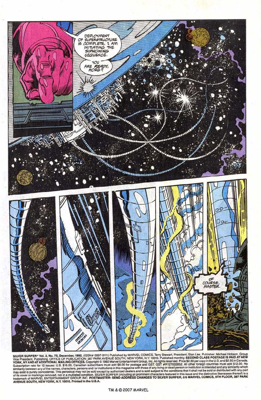 Read online Silver Surfer (1987) comic -  Issue #75 - 3