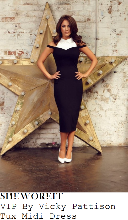 vicky-pattison-vip-by-vicky-pattison-tux-white-and-black-button-up-collar-detail-sweetheart-neckline-midi-dress