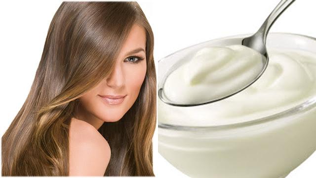 Mascarilla de yogurt para el cabello