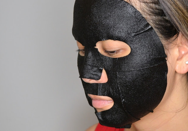 Boo Bamboo Brightening Charcoal Sheet Mask