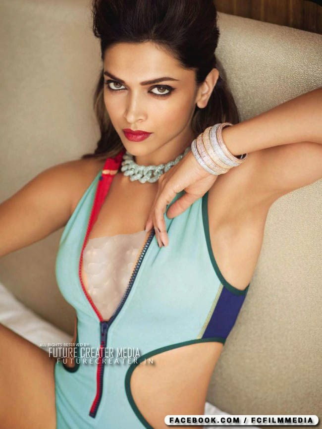 Deepika Padukone sizzles on Vogue June. Feel the heat! Deepika Padukone sexy and stylish on Vogue June cover and photoshoot.